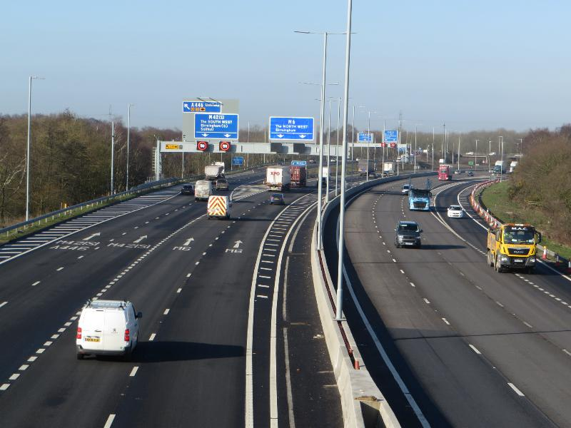 M6 J2 – J4 smart motorway upgrade completion brings significant long-term driver improvements
